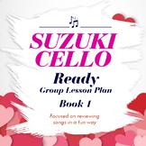 Suzuki Cello Lesson Plan Book One Valentine's Theme