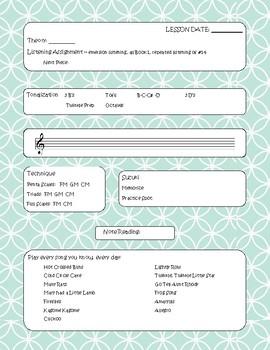 Suzuki Flute Lesson Plan Book 1A