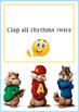 Suzuki Pre-Twinkle Task Cards, Cartoon Listening Challenge