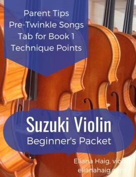 Suzuki Violin Beginner's Packet