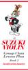 Suzuki Violin Book 2 Ready Lesson Plan