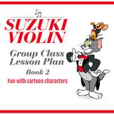 Suzuki Violin Book 2 Ready Lesson Plan