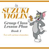 Suzuki Violin Book One Group Class Lesson Plan
