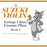 Suzuki Violin Book One Group Class Lesson Plan
