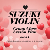 Suzuki Violin Group Lesson Plan