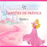 Cartões de prática musical parte 1