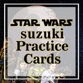 Suzuki Violin Review Cards Book 1 & 2
