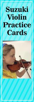 Suzuki Violin Practice Cards (Part 2)