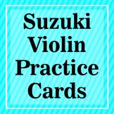 Suzuki Violin Practice Flash Cards (Part 2)