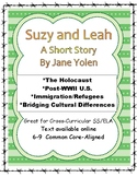 Suzy and Leah by Jane Yolen Close Reading for Holocaust-related Short Story 6-9