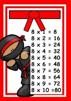 Svart belte i Multiplikasjon!