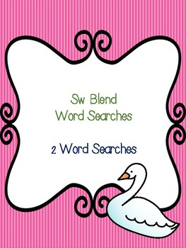 Sw Blend Word Searches!