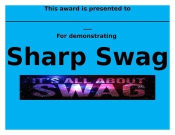 Swag Award