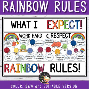 Classroom Rules for Teens