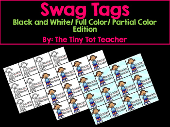 #alliwantforchristmas Swag Tags {131 pages}