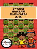Swahili 0-10 Flashcards