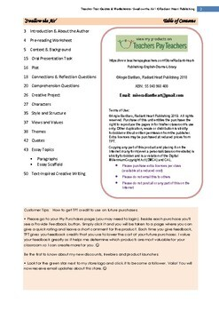 Swallow the Air-Tara Winch Teacher Text Guides & Worksheets