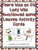 Swallowed Some Leaves Activity Cards