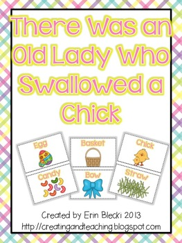 Swallowed a Chick Activity Cards
