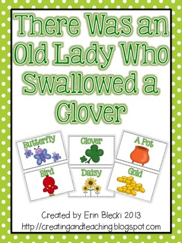 Swallowed a Clover Activity Cards
