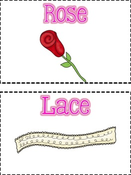 Swallowed a Rose Activity Cards
