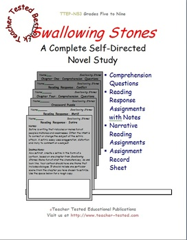 Swallowing Stones: A Complete Novel Study