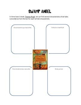 Swamp Angel:  Characteristics of a Tall Tale