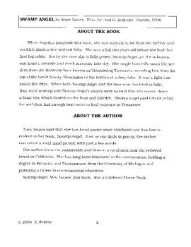 Swamp Angel Literature Guide