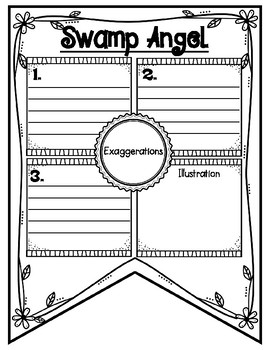Swamp Angel Tall Tale Reading Comprehension Banner