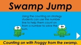 Swamp Jump - Counting on a number line PowerPoint Game