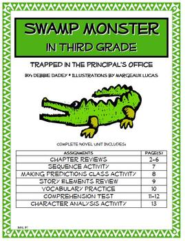 Swamp Monster in Third Grade Complete Novel Unit