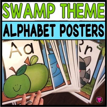 Alphabet Posters Swamp Theme