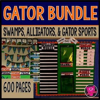 Swamps Alligator and Cajun Country Bundle
