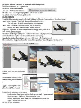 Swapping the Sky in Photoshop Elements 14