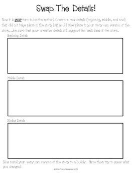 Swap the Details- A text extension activity