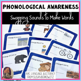 Manipulating Sounds in Word Work with Swapping Sounds Task Cards
