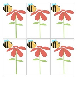 """Swarm of Bees in May"" Mother Goose Rhyme Popsicle Stick Puppets"
