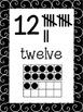 Swarthy {Black & White} Number Posters {Math} Ten Frames {