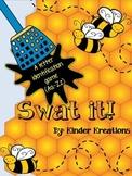 Kindergarten Letter Identification Game - Swat It!