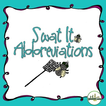 Abbreviations Swat It Game