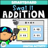 Swat It Addition Facts (Math SMARTboard Game)