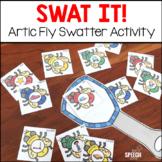 Swat It! Artic Fly Swatter Activity