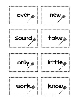 Fry Sight Words Set 2 Swat It Game