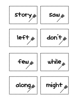 Fry Sight Words Set 3 Swat It
