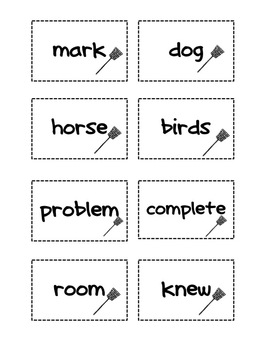 Fry Sight Words Set 4 Swat It Game