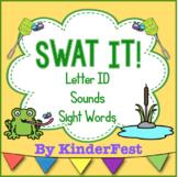 Swat It! Literacy Centers
