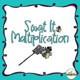 Multiplication Facts Swat It Game