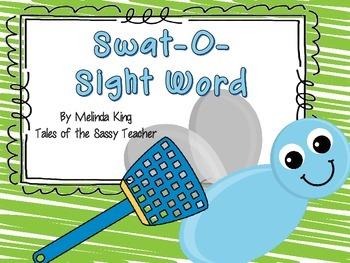 Swat-O-Sight Word