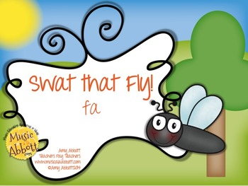 Swat That Fly! A Melody Game for fa