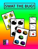 Swat The Bug! Various bugs +reverse sides